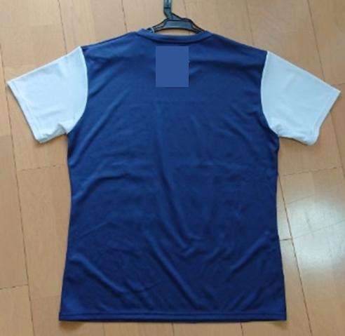 シャツ(綿100% 後染)の白場の再汚染