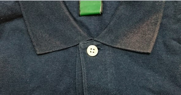 ポロゴルフシャツ(綿100%) 変退色