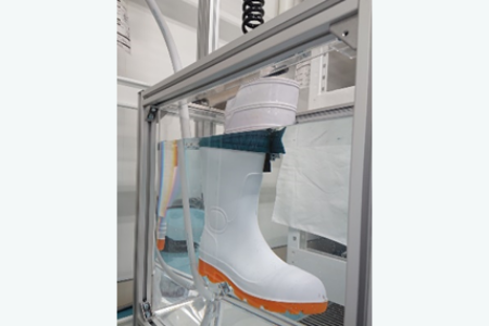 [Protective Footwear] 9.4 Leakage Prevention (JIS T 8101)